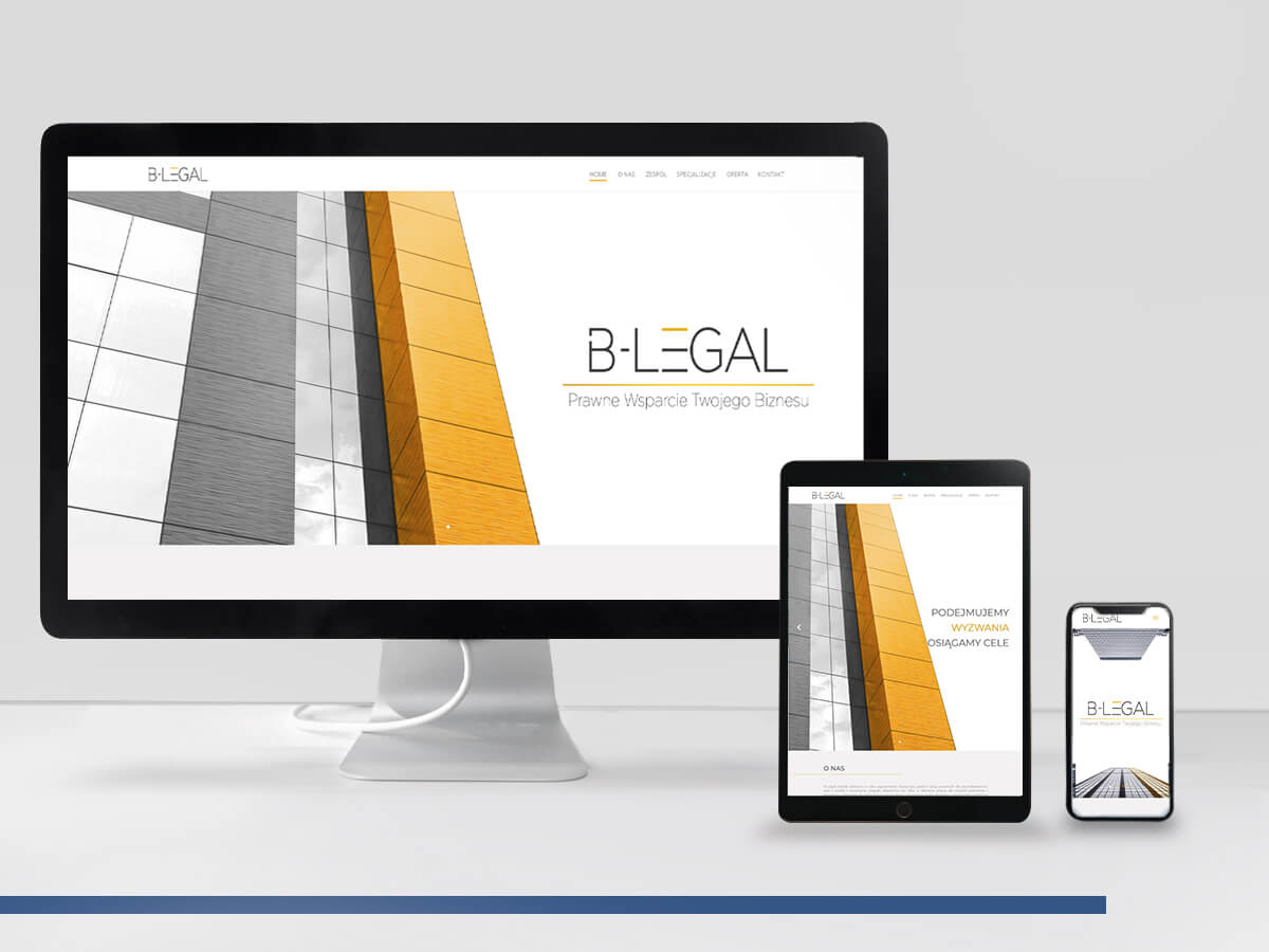 B-Legal - Strona WWW
