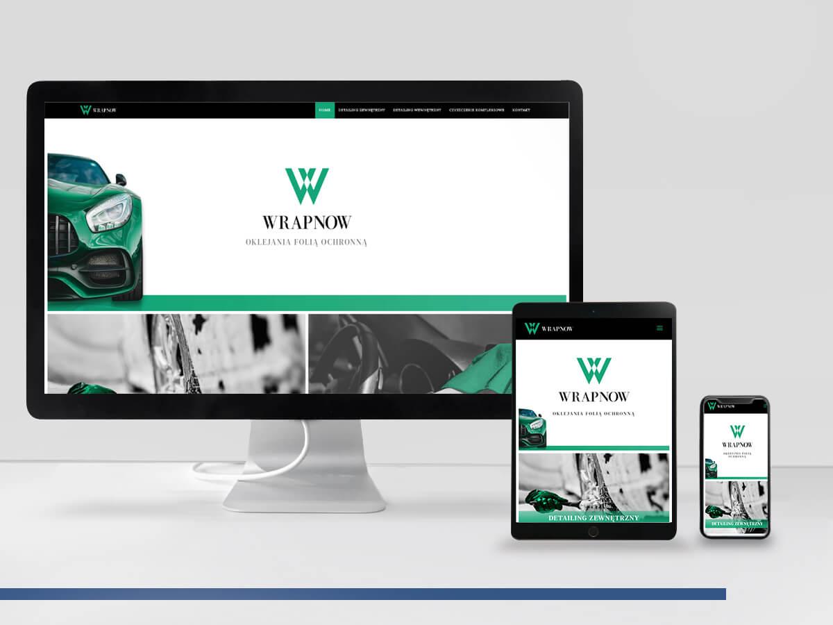 Wrapnow - Strona WWW