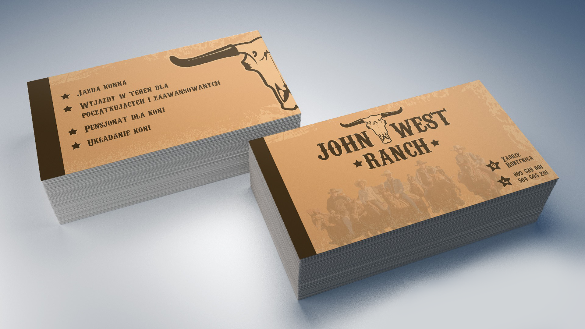 John West Ranch - Wizytówki